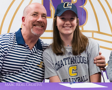 Broughton Letter of Intent signing day. November 8, 2017.