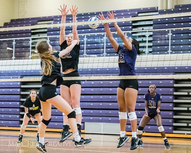 Broughton Volleyball Practice. August 8, 2017