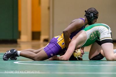 Broughton wrestling vs Cardinal Gibbons. January 12, 2018.