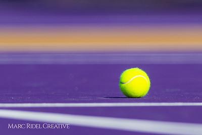 Broughton tennis vs. Cardinal Gibbons. August 29, 2018.