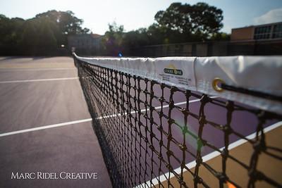 Broughton tennis vs. Leesville. August 28, 2018.