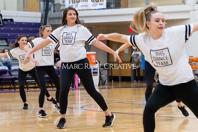 Broughton Dance Team halftime show. January 24, 2020. D4S_5723
