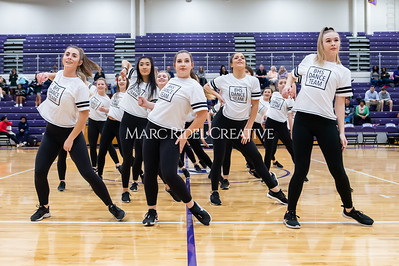 Broughton Dance Team halftime show. January 24, 2020. D4S_5738