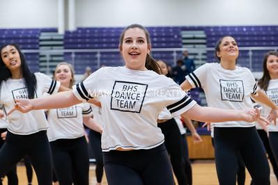Broughton Dance Team halftime show. January 24, 2020. D4S_5762