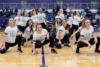 Broughton Dance Team halftime show. January 24, 2020. D4S_5732