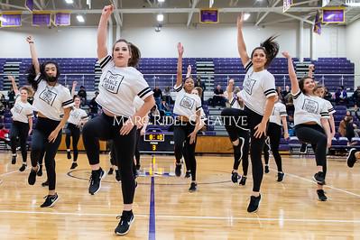 Broughton Dance Team halftime show. January 24, 2020. D4S_5750