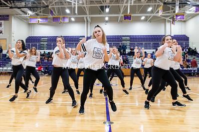 Broughton Dance Team halftime show. January 24, 2020. D4S_5781