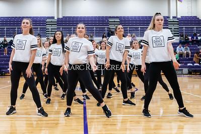 Broughton Dance Team halftime show. January 24, 2020. D4S_5735