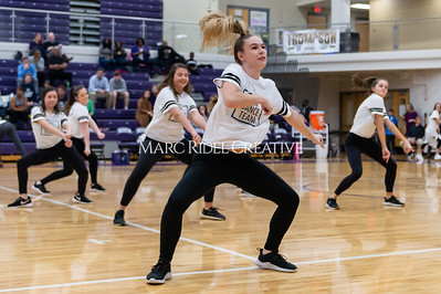 Broughton Dance Team halftime show. January 24, 2020. D4S_5697