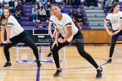 Broughton Dance Team halftime show. January 24, 2020. D4S_5718