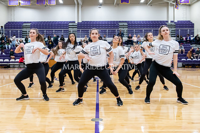 Broughton Dance Team halftime show. January 24, 2020. D4S_5744