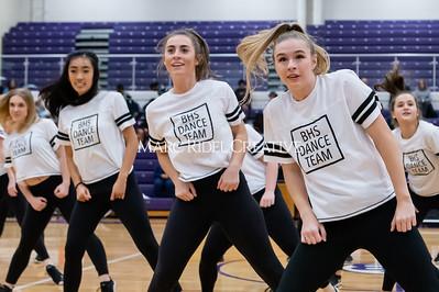 Broughton Dance Team halftime show. January 24, 2020. D4S_5775