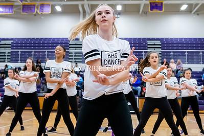 Broughton Dance Team halftime show. January 24, 2020. D4S_5815