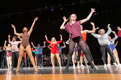 A Chorus Line rehearsal. March 1, 2019. D4S_2659