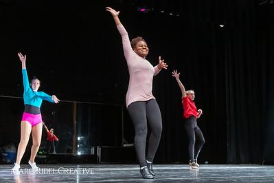 A Chorus Line rehearsal. March 1, 2019. D4S_2703