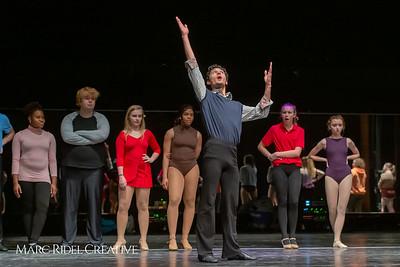 A Chorus Line rehearsal. March 1, 2019. D4S_2772