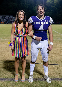 Broughton football vs Enloe. Homecoming. October 10, 2019. D4S_0351