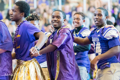 Broughton Homecoming Pep Rally. October 6, 2017.