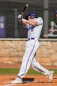 Broughton JV baseball vs Apex. March 15, 2018.