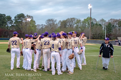 Broughton varsity baseball vs. Corinth Holders. Bobby Murray Invitational Tournament Champions.. April 8, 2018