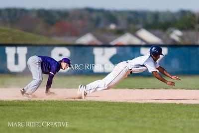 Broughton varsity baseball vs. Heritage. Bobby Murray Invitational. April 5, 2018