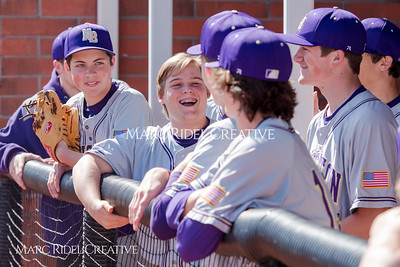 Broughton JV baseball vs. Holly Springs. March 30, 2018.