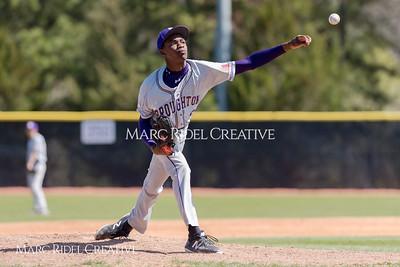 Broughton JV baseball vs. Holly Springs. March 30, 2018.