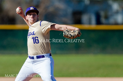 Broughton varsity baseball vs. Knightdale. March 26, 2018.