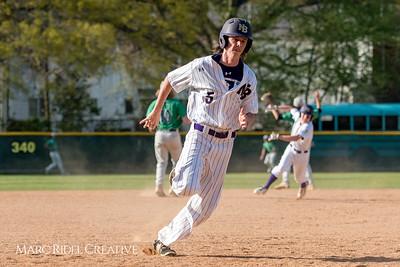 Broughton varsity baseball vs. Leesville. April 13, 2018.