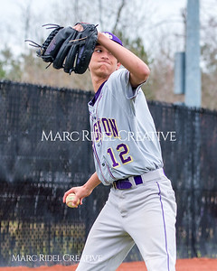 Broughton JV baseball vs. Middle Creek. March 30, 2018.