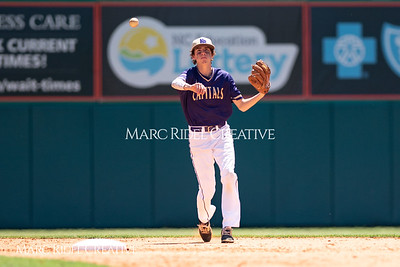 Broughton varsity baseball vs. Middle Creek. April 21, 2018.