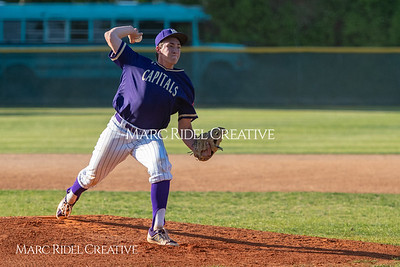 Broughton varsity baseball vs. Millbrook. May 1, 2018.
