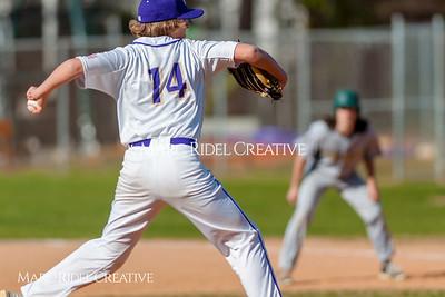 Broughton JV baseball vs. Northwood. March 23, 2018.