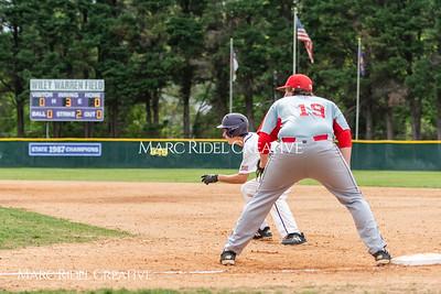 Broughton JV baseball vs Sanderson. April 26, 2018.