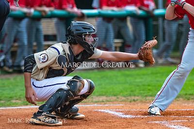 Broughton varsity baseball vs Sanderson. April 27, 2018.