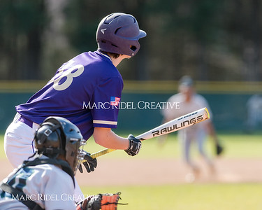 Broughton varsity baseball vs Southeast Raleigh. March 16, 2018.