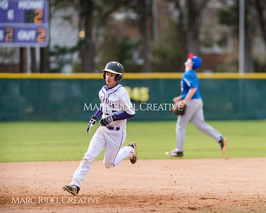 Broughton JV baseball vs. Wake Forest. March 8, 2018