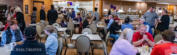 Broughton baseball pancake breakfast fundraiser at the Cameron Village K&W. December 1, 2018, 750_1250