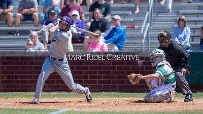 Broughton varsity baseball at Cardinal Gibbons. April 27, 2019. D4S_3321