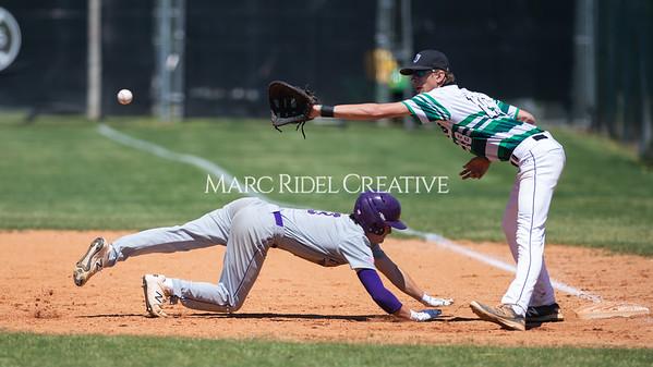 Broughton varsity baseball at Cardinal Gibbons. April 27, 2019. D4S_3404