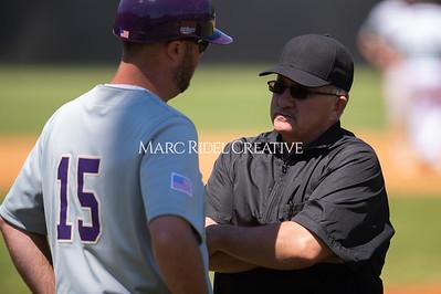 Broughton varsity baseball at Cardinal Gibbons. April 27, 2019. D4S_3445