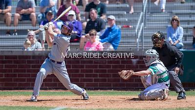 Broughton varsity baseball at Cardinal Gibbons. April 27, 2019. D4S_3320