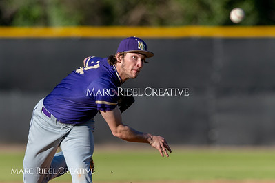 Broughton varsity baseball vs Enloe. March 26, 2019. D4S_5070