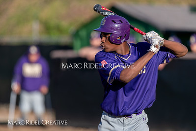Broughton varsity baseball vs Enloe. March 26, 2019. D4S_4983