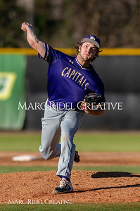 Broughton varsity baseball vs Enloe. March 26, 2019. D4S_5018