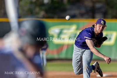 Broughton varsity baseball vs Enloe. March 26, 2019. D4S_5033
