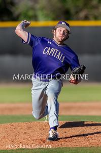 Broughton varsity baseball vs Enloe. March 26, 2019. D4S_5062