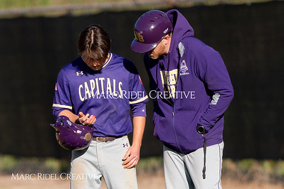 Broughton varsity baseball vs Enloe. March 26, 2019. D4S_4930