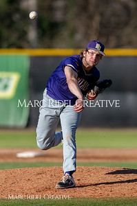 Broughton varsity baseball vs Enloe. March 26, 2019. D4S_5019