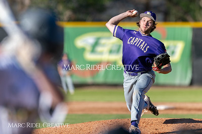 Broughton varsity baseball vs Enloe. March 26, 2019. D4S_5045